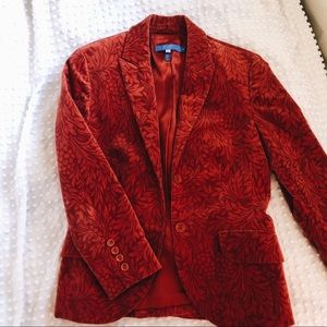 Red Floral Escada Sports Jacket